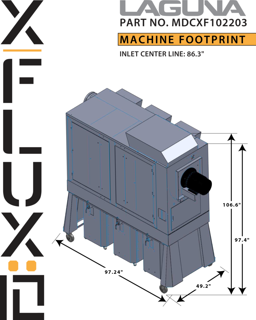 xflux 10 explode proof dust collector